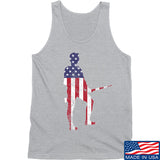 Black Diamond Guns and Gear Minutemen Tank Tanks SMALL / Light Grey by Ballistic Ink - Made in America USA