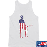 Black Diamond Guns and Gear Minutemen Tank Tanks SMALL / White by Ballistic Ink - Made in America USA