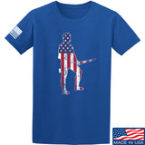 Black Diamond Guns and Gear Minutemen T-Shirt T-Shirts Small / Blue by Ballistic Ink - Made in America USA