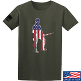 Black Diamond Guns and Gear Minutemen T-Shirt T-Shirts Small / Military Green by Ballistic Ink - Made in America USA