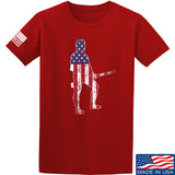 Black Diamond Guns and Gear Minutemen T-Shirt T-Shirts Small / Red by Ballistic Ink - Made in America USA