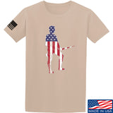 Black Diamond Guns and Gear Minutemen T-Shirt T-Shirts Small / Sand by Ballistic Ink - Made in America USA