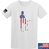 Black Diamond Guns and Gear Minutemen T-Shirt T-Shirts Small / White by Ballistic Ink - Made in America USA