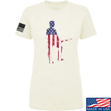 Black Diamond Guns and Gear Ladies Minutemen T-Shirt T-Shirts SMALL / Cream by Ballistic Ink - Made in America USA