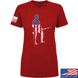 Black Diamond Guns and Gear Ladies Minutemen T-Shirt T-Shirts SMALL / Red by Ballistic Ink - Made in America USA