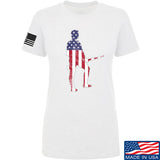 Black Diamond Guns and Gear Ladies Minutemen T-Shirt T-Shirts SMALL / White by Ballistic Ink - Made in America USA