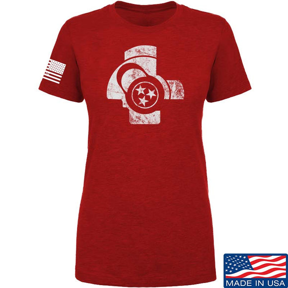 Ladies TN Tri Star AK47 Bolt T-Shirt
