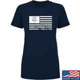 Ladies Cabot Guns Flag T-Shirt