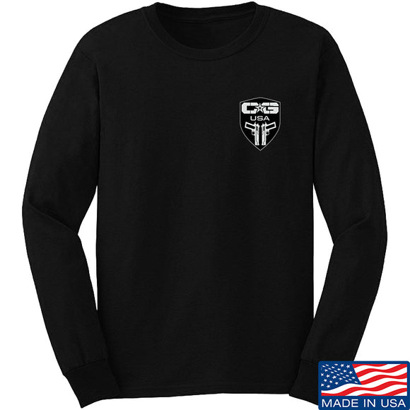 Cabot Guns Chest Logo Long Sleeve T-Shirt