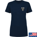 Ladies Cabot Guns Chest Logo T-Shirt
