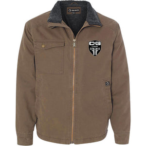 Cabot Guns Logo Dri Duck Men's Endeavor Jacket