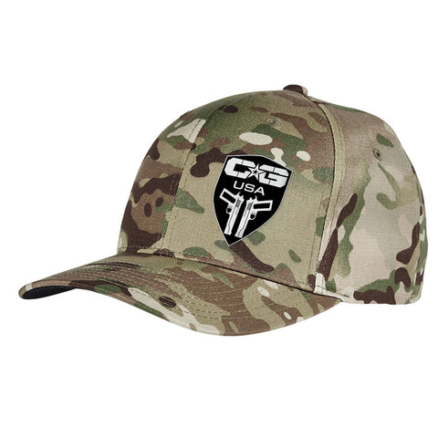 Cabot Guns Logo Flexfit® Multicam® Trucker Cap