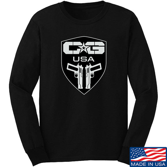 Cabot Guns Full Logo Long Sleeve T-Shirt