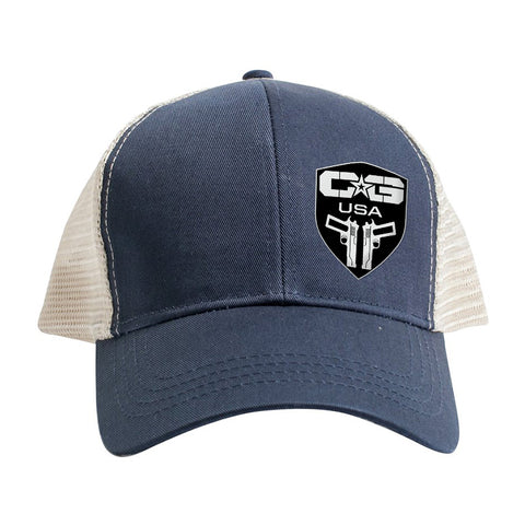 Cabot Guns Logo Side Trucker Snapback Cap