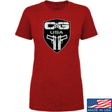 Ladies Cabot Guns Full Logo T-Shirt