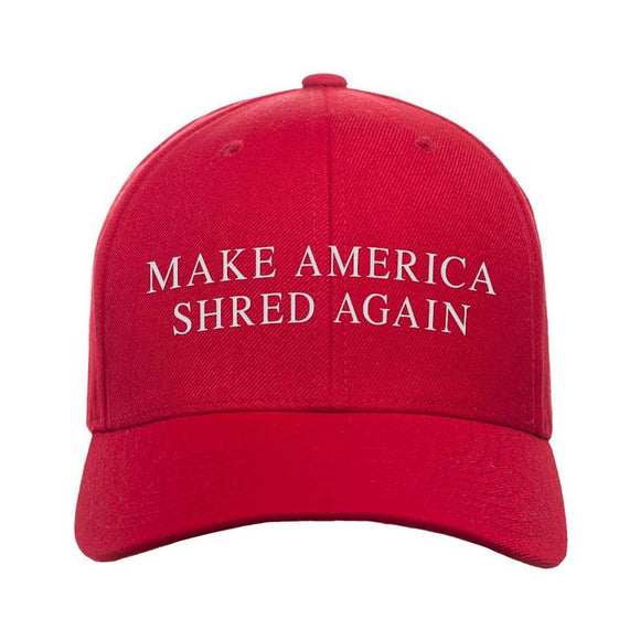 Make America Shred Again Snapback Cap