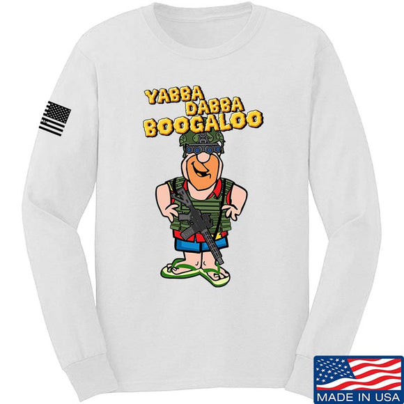 Yabba Dabba Boogaloo Long Sleeve T-Shirt [IV8888]