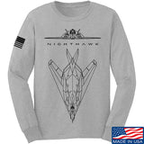 Aviation - F117 - Nighthawk Long Sleeve T-Shirt