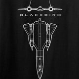 Aviation - SR71 - Blackbird Long Sleeve T-Shirt