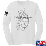 Jesus Christ - AK47 - Cloak Sword Long Sleeve T-Shirt