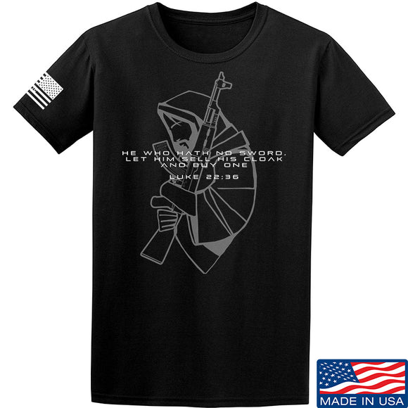 Jesus Christ - AK47 - Cloak Sword T-Shirt