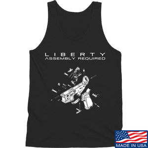 Fitty% Liberty: Assembly Required Tank Tanks SMALL / Black by Ballistic Ink - Made in America USA