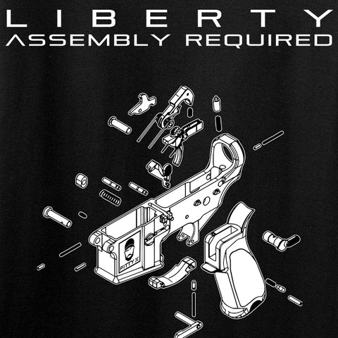 Fitty% Liberty: Assembly Required Tank Tanks [variant_title] by Ballistic Ink - Made in America USA