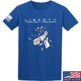 Fitty% Liberty: Assembly Required T-Shirt T-Shirts Small / Blue by Ballistic Ink - Made in America USA