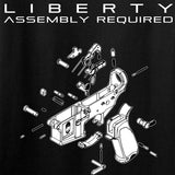 Fitty% Ladies Liberty: Assembly Required T-Shirt T-Shirts [variant_title] by Ballistic Ink - Made in America USA