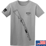 Fitty% Shotgun - 590 T-Shirt T-Shirts Small / Light Grey by Ballistic Ink - Made in America USA