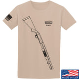 Fitty% Shotgun - 590 T-Shirt T-Shirts Small / Sand by Ballistic Ink - Made in America USA