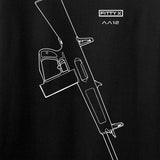 Fitty% Shotgun - AA12 T-Shirt T-Shirts [variant_title] by Ballistic Ink - Made in America USA
