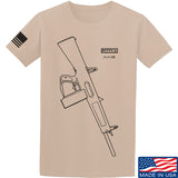 Fitty% Shotgun - AA12 T-Shirt T-Shirts Small / Sand by Ballistic Ink - Made in America USA