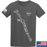 Fitty% Shotgun - BM4 T-Shirt T-Shirts Small / Charcoal by Ballistic Ink - Made in America USA