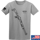 Fitty% Shotgun - BM4 T-Shirt T-Shirts Small / Light Grey by Ballistic Ink - Made in America USA