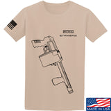 Fitty% Shotgun - Striker12 T-Shirt T-Shirts Small / Sand by Ballistic Ink - Made in America USA