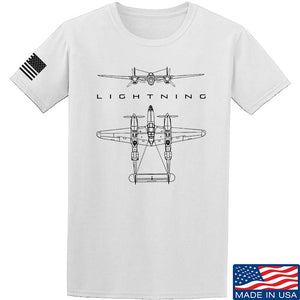 WWII Planes - Lightning T-Shirt