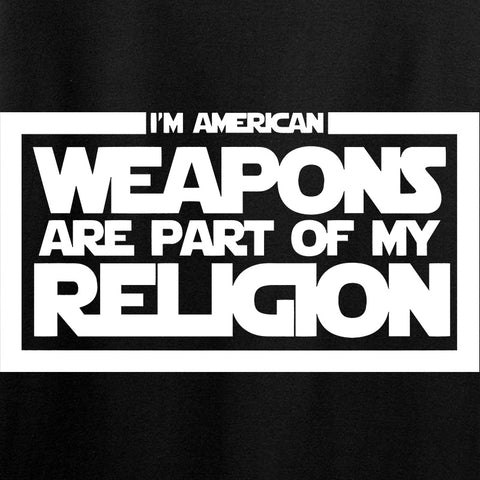 Weapons Religion Long Sleeve T-Shirt [9mmsmg]