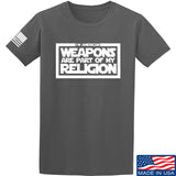 Weapons Religion T-Shirt [9mmsmg]