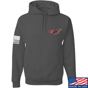 Gould Brothers Gould Brothers Chest Logo Hoodie Hoodies Small / Black by Ballistic Ink - Made in America USA