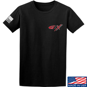 Gould Brothers Gould Brothers Chest Logo T-Shirt T-Shirts Small / Black by Ballistic Ink - Made in America USA