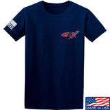 Gould Brothers Gould Brothers Chest Logo T-Shirt T-Shirts Small / Navy by Ballistic Ink - Made in America USA