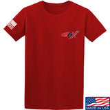 Gould Brothers Gould Brothers Chest Logo T-Shirt T-Shirts Small / Red by Ballistic Ink - Made in America USA