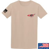 Gould Brothers Gould Brothers Chest Logo T-Shirt T-Shirts Small / Sand by Ballistic Ink - Made in America USA