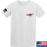 Gould Brothers Gould Brothers Chest Logo T-Shirt T-Shirts Small / White by Ballistic Ink - Made in America USA