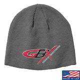 Gould Brothers Gould Brothers Logo Beanie Headwear Grey by Ballistic Ink - Made in America USA