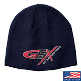 Gould Brothers Gould Brothers Logo Beanie Headwear Navy by Ballistic Ink - Made in America USA