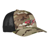 Gould Brothers Gould Brothers Logo Flexfit® Multicam® Trucker Mesh Cap Headwear Multicam by Ballistic Ink - Made in America USA