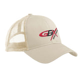 Gould Brothers Gould Brothers Logo Snapback Cap Headwear Oyster by Ballistic Ink - Made in America USA