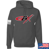Gould Brothers Gould Brothers Full Logo Hoodie Hoodies Small / Charcoal by Ballistic Ink - Made in America USA